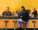 The Diner,16X20,o/c